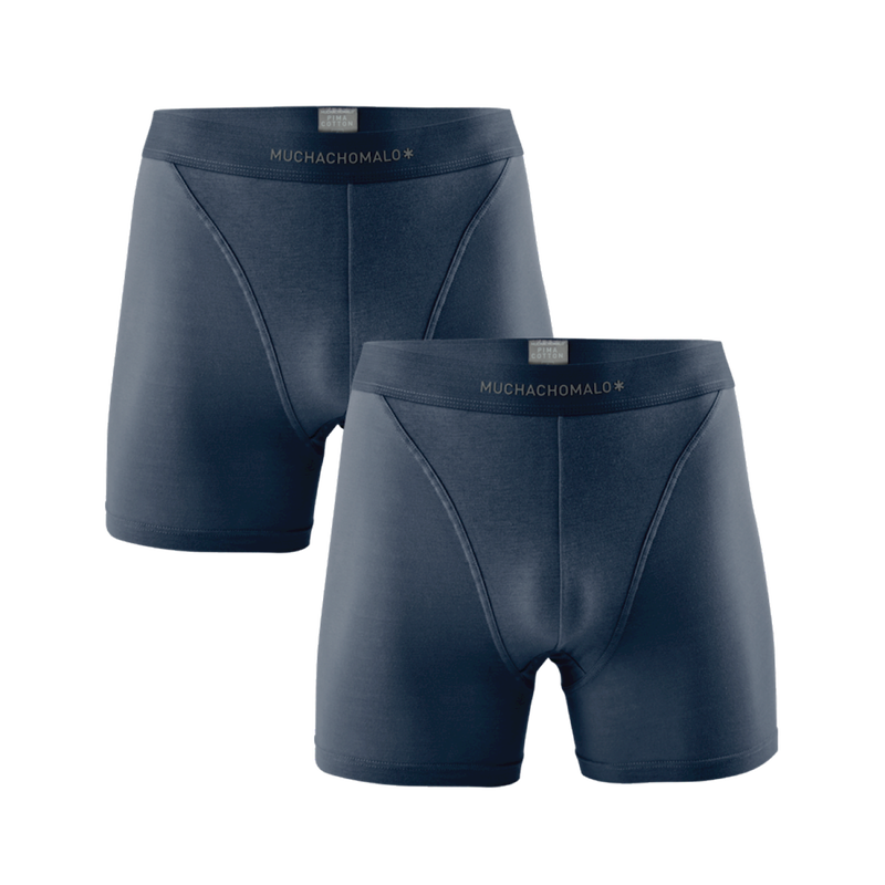 MEN 2-PACK PIMA COTTON SOLID 1