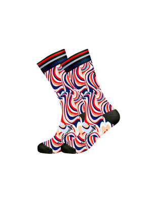 Men 1-pack socks Flower power