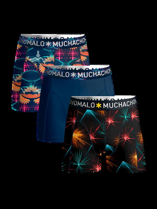 Men 3-pack shorts EDM music 1