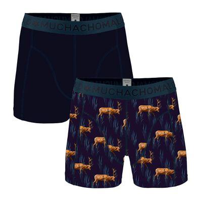 Jongens 2-pack Boxershorts Cotton Modal Elk
