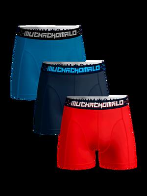 Jongens 3-pack boxershorts effen