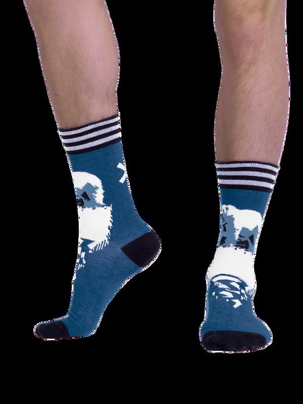 Men 1-pack socks Pattern CLMTC 2