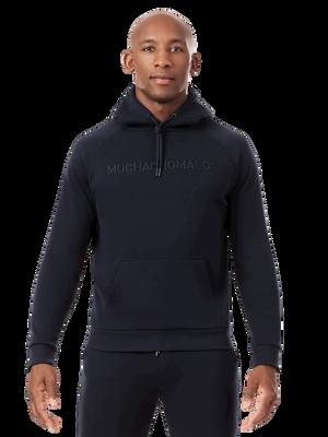 Men hoodie blue
