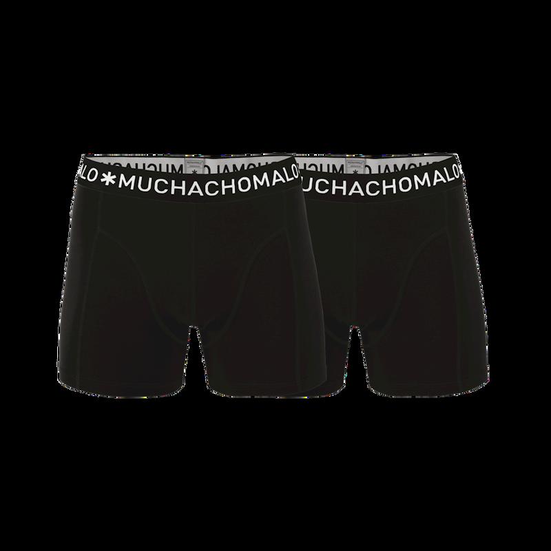 Men 2-pack boxer solid/solid