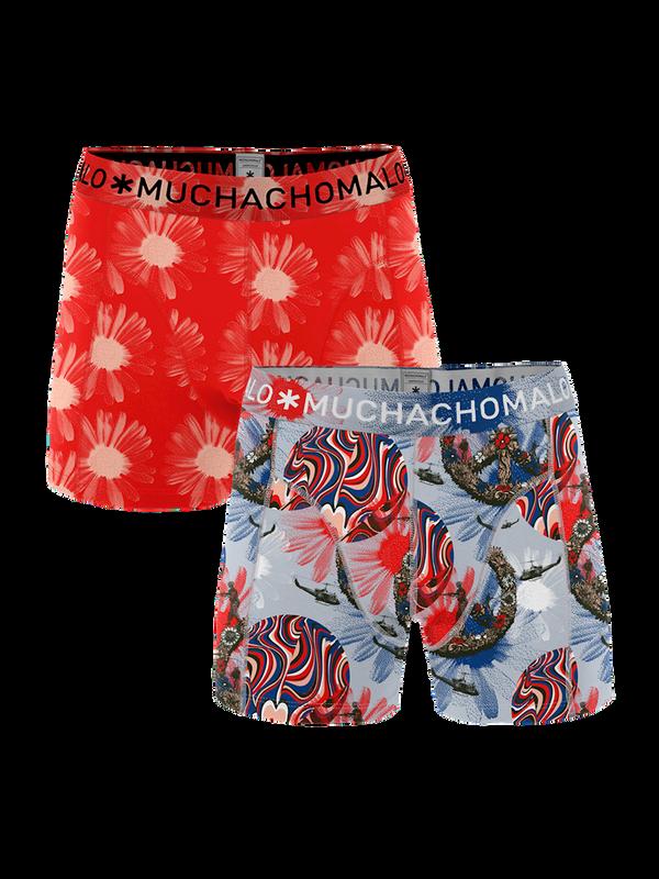 Men 2-pack shorts Flower Power