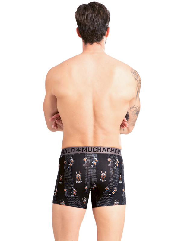 Men 2-Pack short print/solid 4