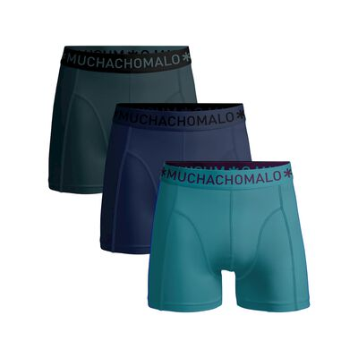 Boys 3-pack boxer shorts solid