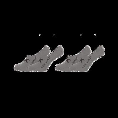Heren 2-pack sneaker sokken effen