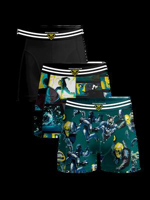 Boys 3-pack boxer shorts Comic