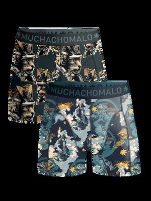 Men 2-pack boxer shorts Samurai