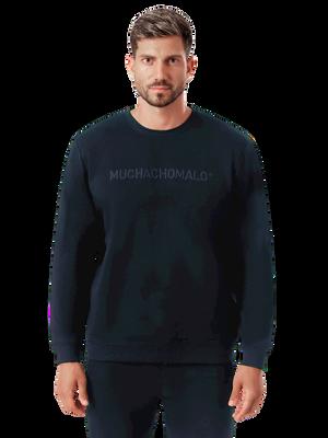 Heren 1-pack sweater blauw