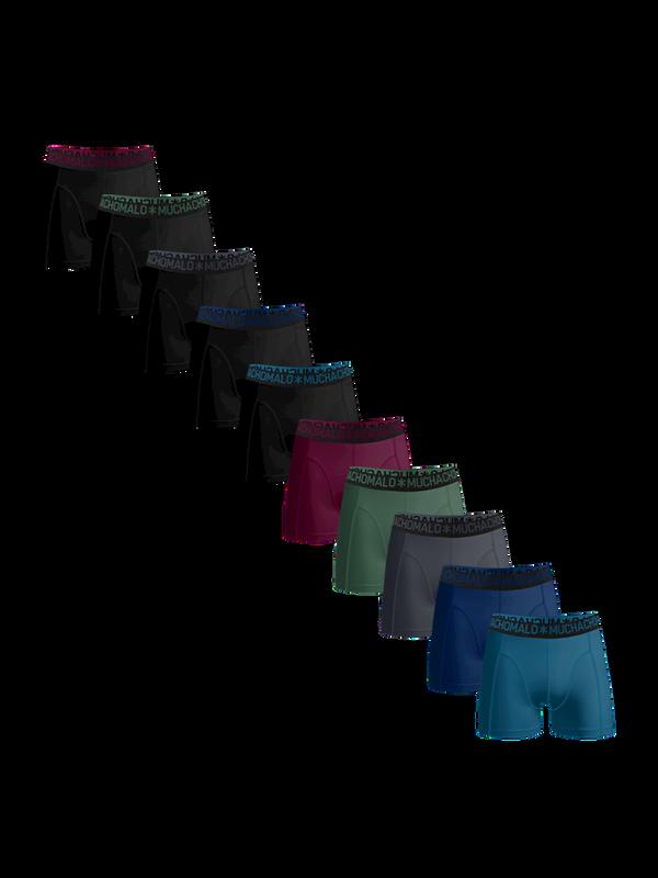 Men 10-pack light cotton solid
