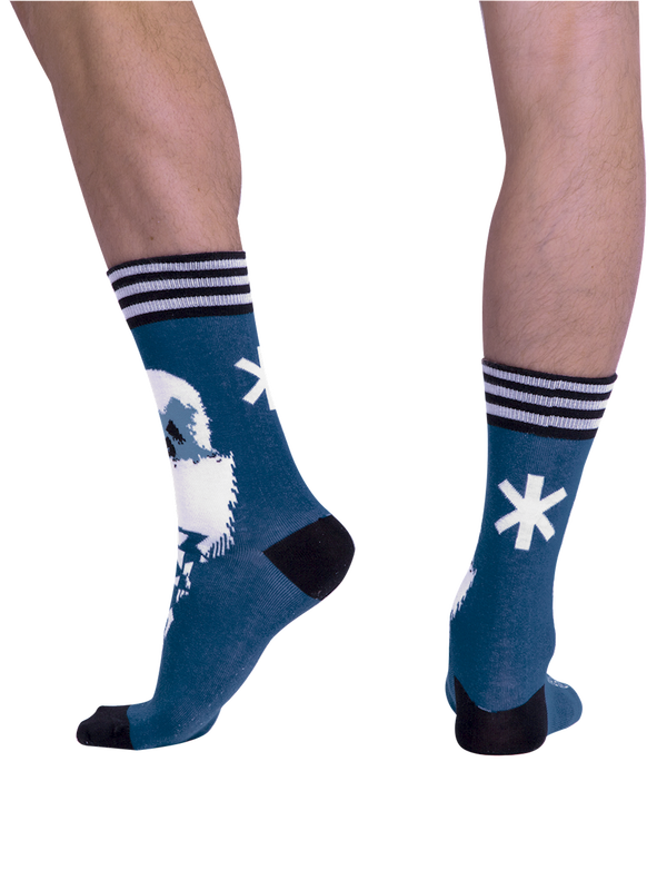 Men 1-pack socks Pattern CLMTC 3