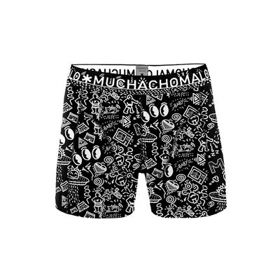 Heren 1-pack Boxershort Iconic Art