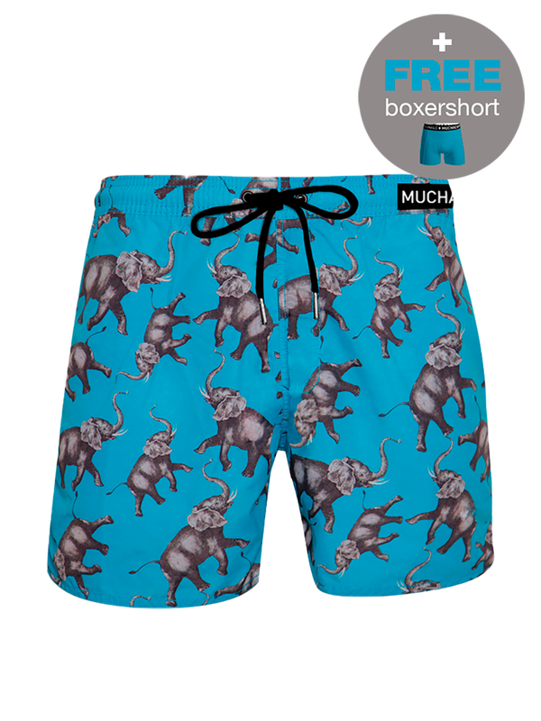 Men swimshort Elephant