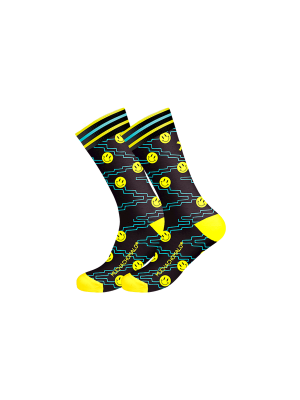 Men 1-pack socks Pattern ACIDH 1