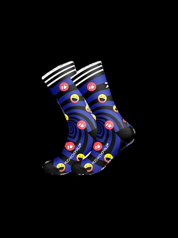Men 1-pack socks Pattern SOCME 1