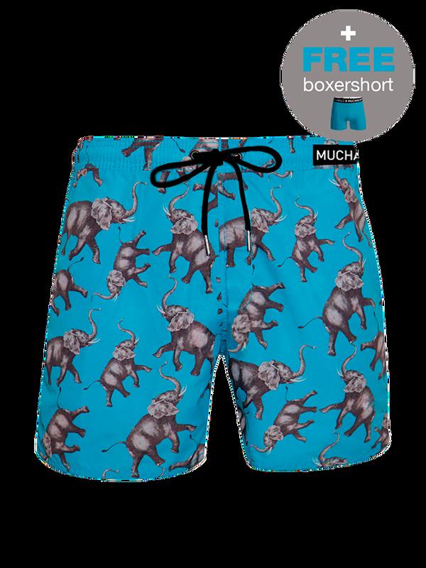 Men swimshort Elephant