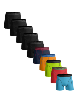 Heren 10-pack boxershorts effen