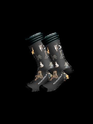 Heren 1-pack sokken Cats Everywhere