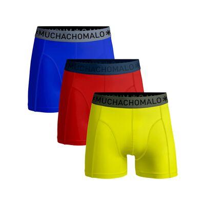 Jongens 3-pack boxershort effen