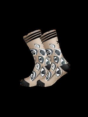 Men 1-pack socks Eyes
