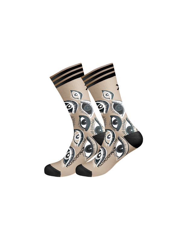 Men 1-pack socks Pattern EYEZU 1