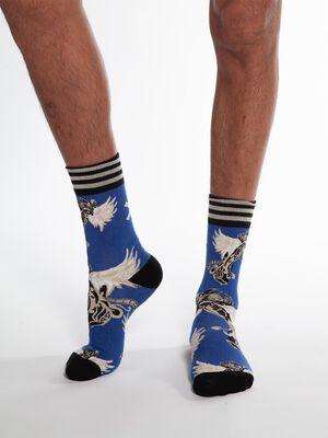 Men 1-pack socks King Maori 2