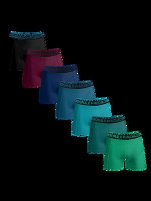 Heren 7-pack Boxershorts Light Cotton Effen