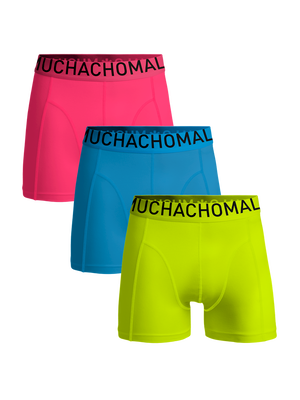 Jongens 3-pack boxershorts solid