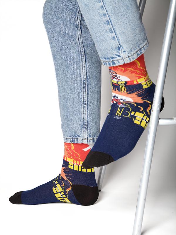 Men 1-pack socks Pattern SNIN 2