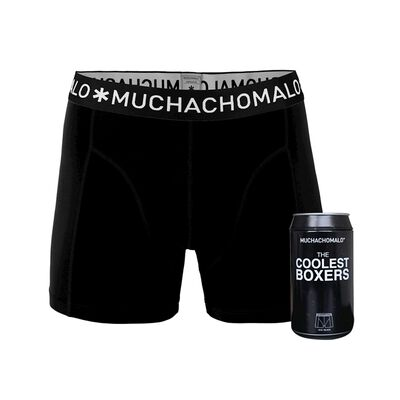 Heren Cans 1-pack Boxershort Black