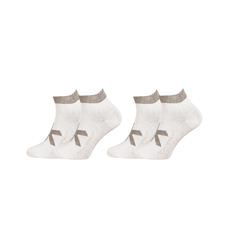 2-PACK SOLID SOCKS SHORT 1