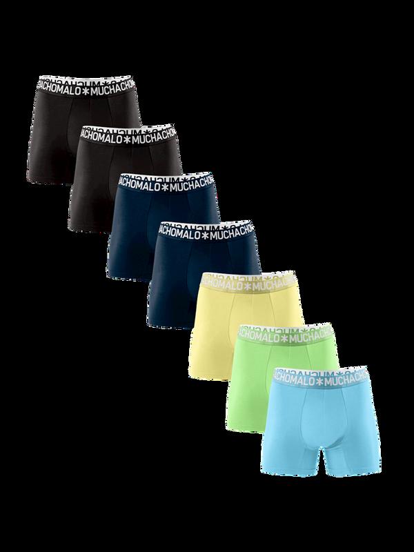 Men 7-pack short solid