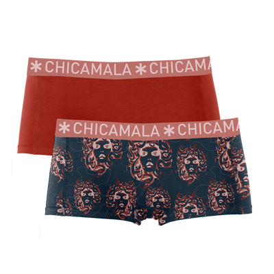 Women 2-pack boxer shorts Medusa