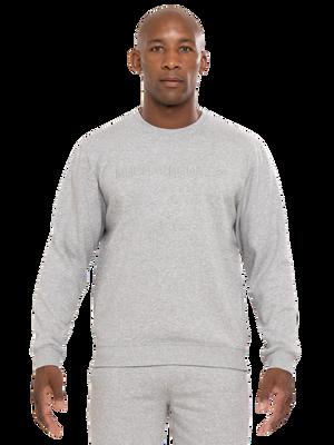 Heren sweater grijs
