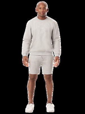Heren 1-pack sweater grijs