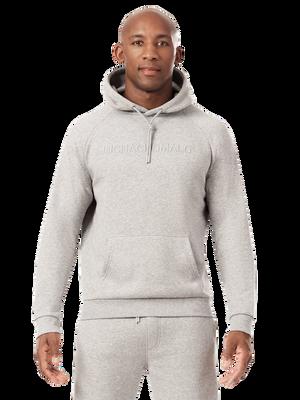 Men hoodie grey