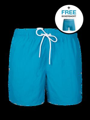 Heren 1-pack swimshort effen