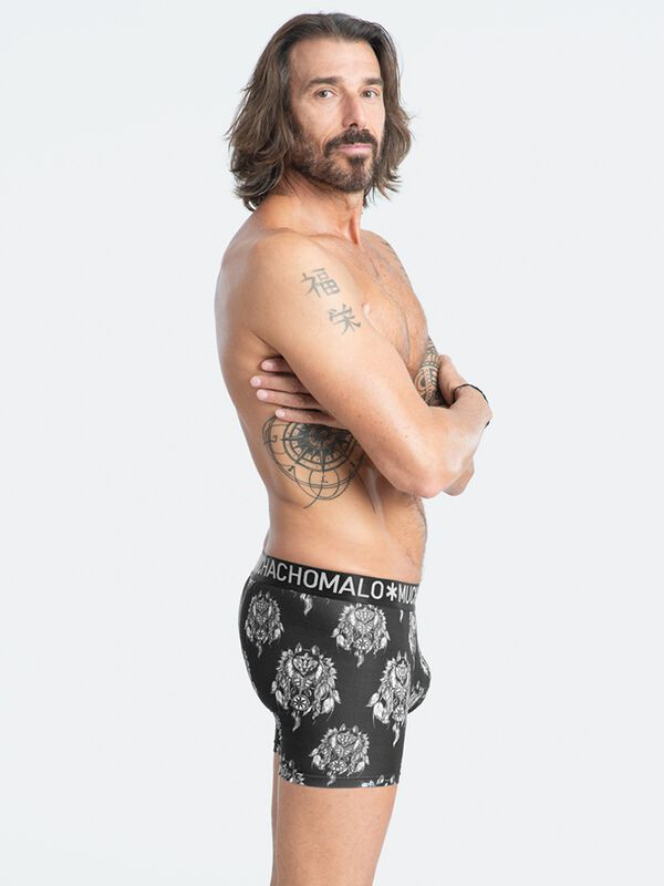 Men 2-Pack Husky short print/solid
