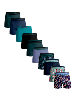 Heren 10-pack boxershorts Turtle + Japan + solid