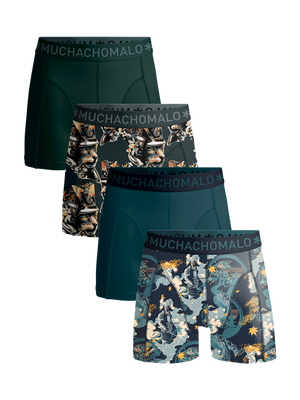 Heren 4-pack boxershorts Samurai