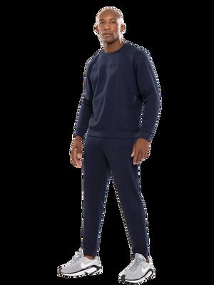 Heren sweater blauw