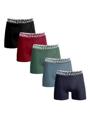 Heren 5-pack Light cotton effen