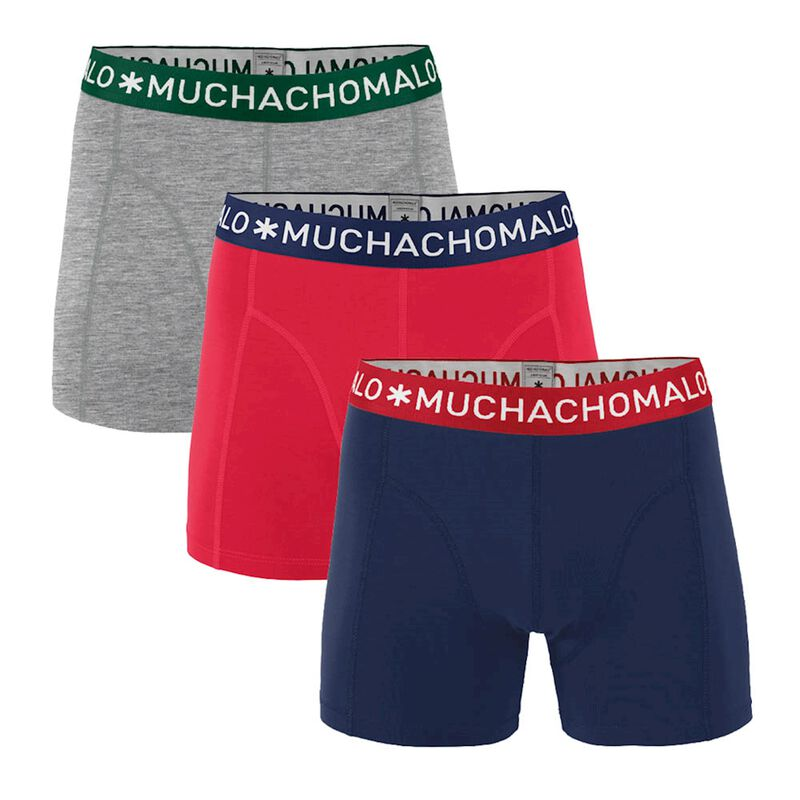 BOYS 3-PACK SHORT SOLID/SOLID/SOLID