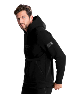 Men hoodie LNR black/black 2