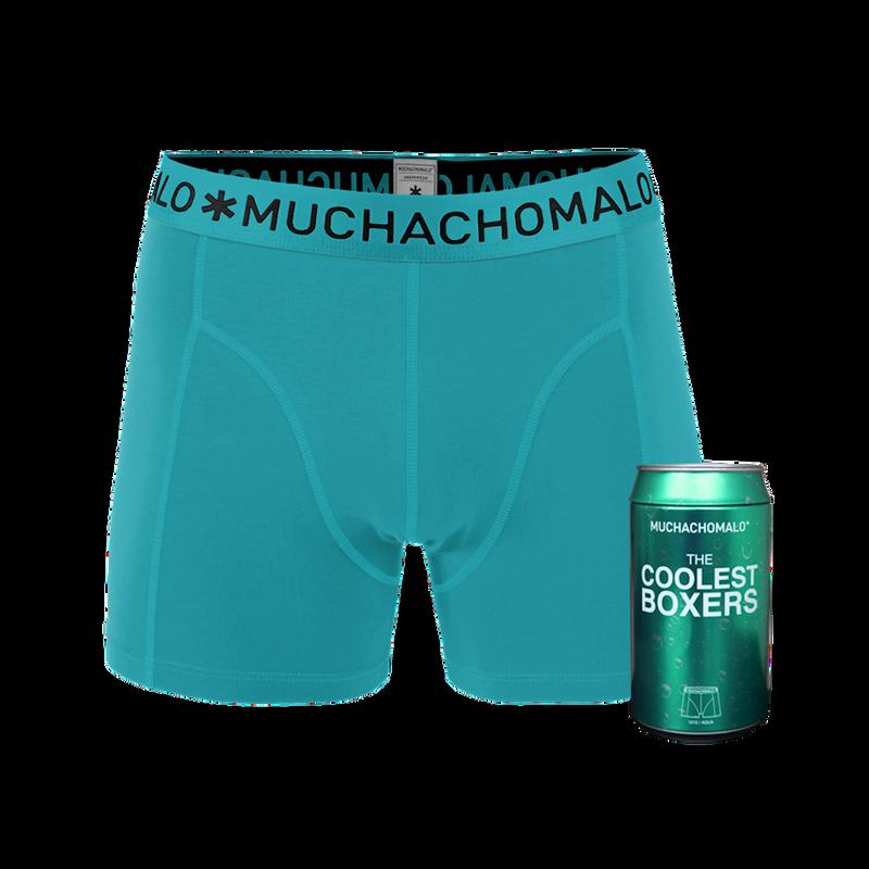 Men 1-pack short aqua 1