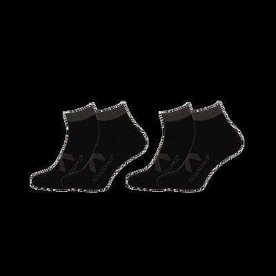 Men 2-pack sneaker socks solid