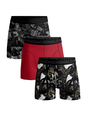 Jongens 3-pack boxershorts Punk