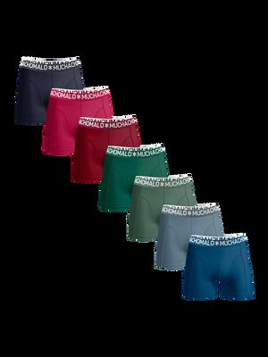 Men 7-pack boxer shorts solid